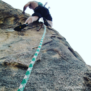 Rock Climbing Photo: Here you can get a sense of how cool the holds are...
