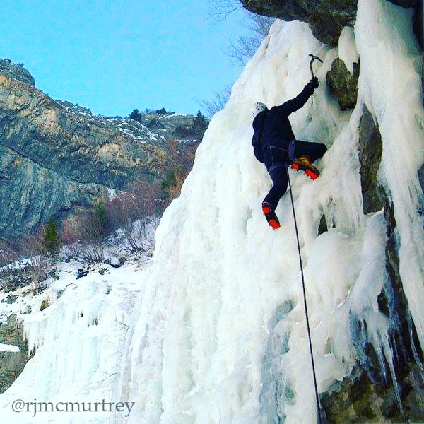 Fun ice climbing with an easy approach.