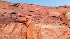 Rock Climbing Photo: Looking up the start of the route from Broadway le...