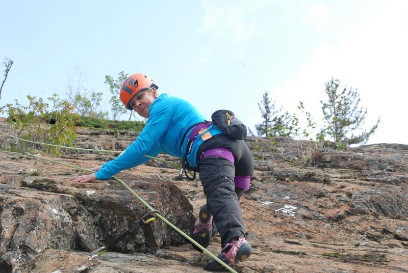 Tree Fort Crag, Tree Tackle Climb