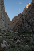Rock Climbing Photo: Early morning send session, September 3rd, 2017.