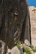 Rock Climbing Photo: Steven Van Betten on Atomic Gecko, September 3rd, ...