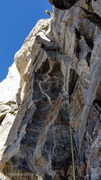 Rock Climbing Photo: The rappel down across the OS, saving a lot of tim...