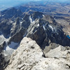 From the summit (via Petzoldt to Upper Exum)