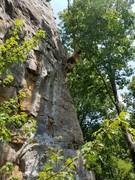 Rock Climbing Photo: Hanging out at Orange Crush