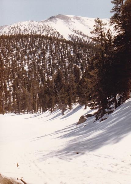 Camp at Dry Lake - Spring 1985