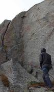 Rock Climbing Photo: Broken Arrow