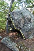 Rock Climbing Photo: First Burn.