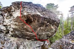 Rock Climbing Photo: The Blade V7-