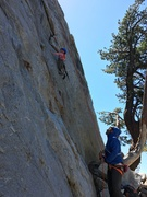 Rock Climbing Photo: 5 year old beta is a bit different.