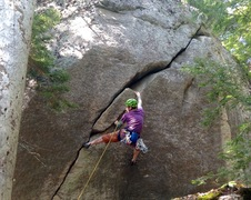 Cool lil climb. Photo: Torie