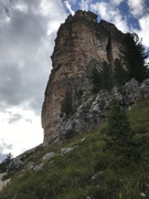 Rock Climbing Photo: Torri Grande and the Via Myriam