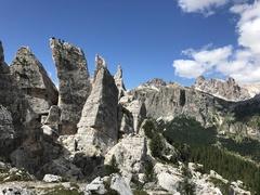 Rock Climbing Photo: Cinque Torri