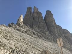 Rock Climbing Photo: Vajolet Towers- Delago, Stabler, Winkler  We clim...