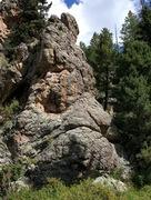 Rock Climbing Photo: Rope on climb