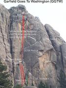 Rock Climbing Photo: BETA. Garfield Goes To Washington.