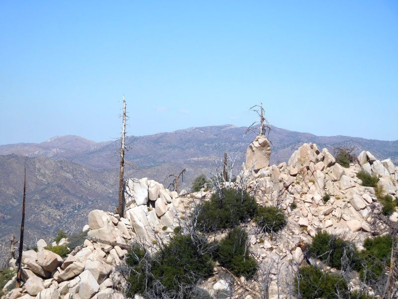 Toadstool Pinnacle from 2N13, Green Valley Lake Pinnacles
