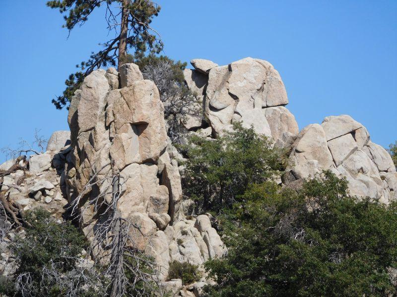 Low Maintenance Rock from 2N13, Green Valley Lake Pinnacles