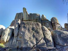 Rock Climbing Photo: Rock Links formation, Crafts Peak