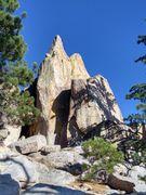 Rock Climbing Photo: Perky Crafts Tit, Crafts Peak