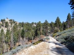 Rock Climbing Photo: The last bit of the drive, Crafts Peak