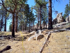 Rock Climbing Photo: Start of the trail from the parking area, Crafts P...