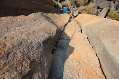 Rock Climbing Photo: U3 (aka Wally's Warm-Up)