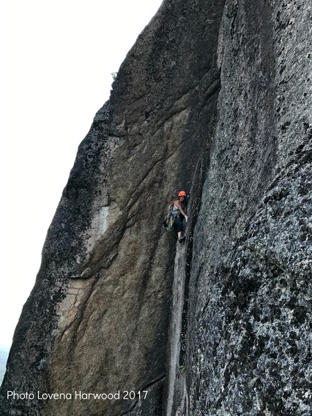 Sarah Garlick seconding Scott on Black Crack 9.17.2017
