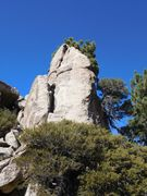 Rock Climbing Photo: Adventure Pass Pinnacle, Crafts Peak