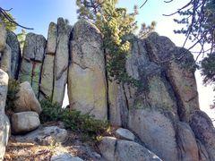 Rock Climbing Photo: 5.8 Wall, Crafts Peak