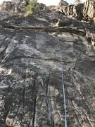 Rock Climbing Photo: Quickdraws on Kind Veggie Brother.