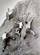 Rock Climbing Photo: Tom Herbert, Harry Daley, Bob Kamps & Yvon Chouina...