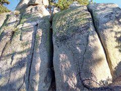Rock Climbing Photo: Party Wall, Crafts Peak