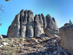 Rock Climbing Photo: Cat Walk Rock (NW Face), Crafts Peak