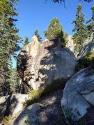 Rock Climbing Photo: Grain Top Pinnacle, Crafts Peak