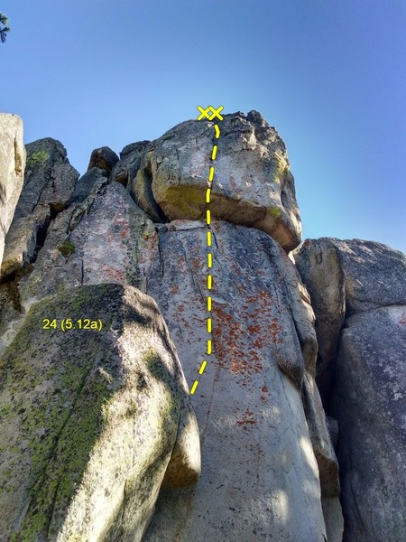 24 (5.12a), Crafts Peak