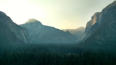 Rock Climbing Photo: Dawn breaking on the Valley, as seen from Five Ope...