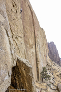 Rock Climbing Photo: 5 Gallon Buckets, nearing the chains