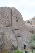 Eric crushing it on this CLASSIC route!