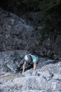 Rock Climbing Photo: Shiny Yellow Crane photo: Brandon Sawaya