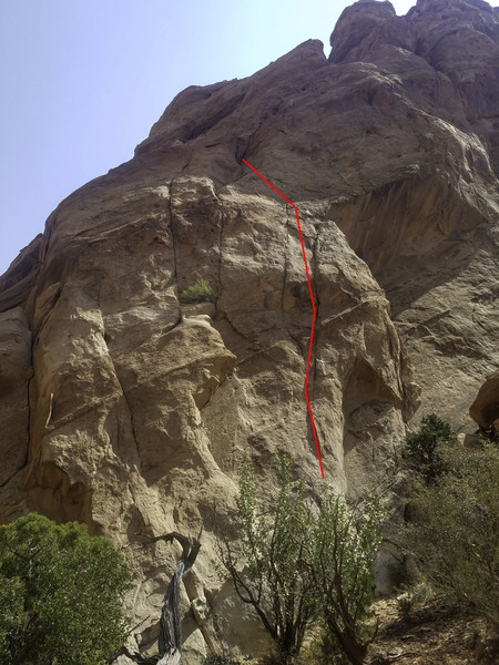 Red line shows pitch 1