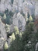 Rock Climbing Photo: Clean Sweep left and Estrellita right