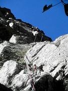 Rock Climbing Photo: Narrow Escape (1st pitch)