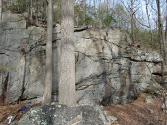 off the beaten track, nice 5.8 lead on right,  much harder on left...