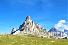 Rock Climbing Photo: La Gusela di Nuvolau at Passo Giau