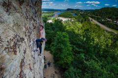 Rock Climbing Photo: climb with a view