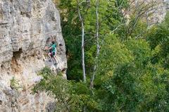 Rock Climbing Photo: Brennan