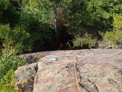 Rock Climbing Photo: 9/21 50'