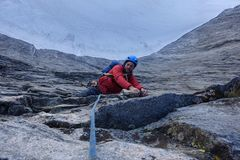 Topping out on the spectacular last pitch.