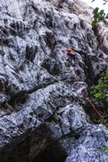 Rock Climbing Photo: Start of One Foundation.